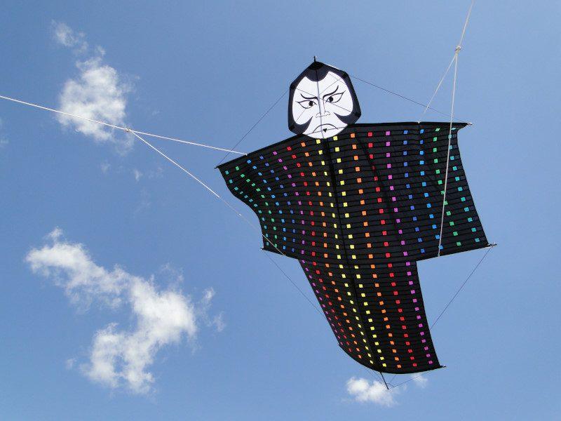 Cerf-volant Kimono Samurai de Kosmodul'air