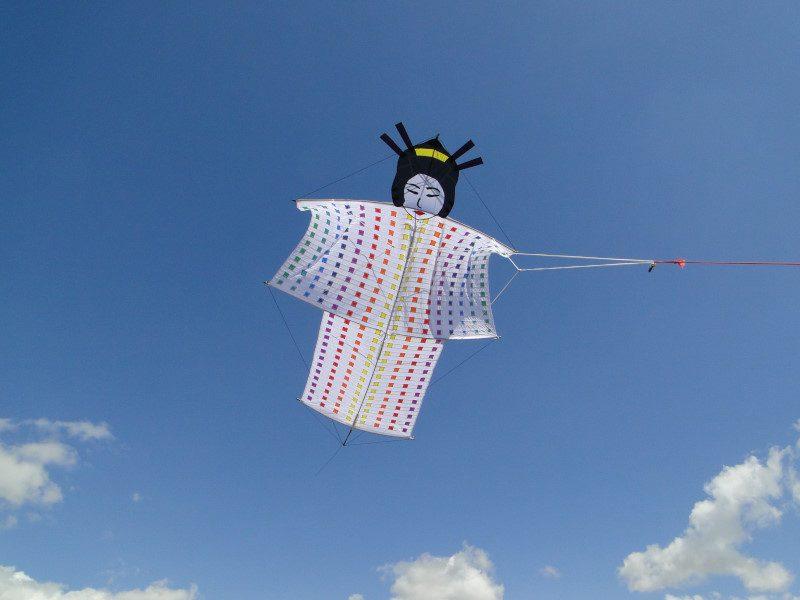 Cerf-volant Kimono Geisha Kosmodul'air
